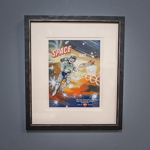 Vintage Advertising Space Picture (1 of 6)