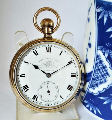 Thomas Russell Pocket Watch 1930s (1 of 5)
