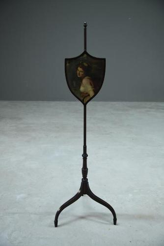 Antique Pole Screen (1 of 8)