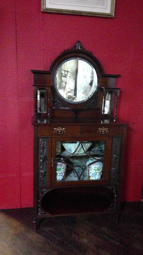 Victorian China Display Cabinet (1 of 6)