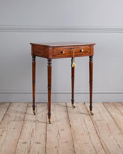 Regency Mahogany Work Table (1 of 6)