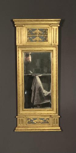 Swedish Gustavian Style Giltwood Mirror (1 of 7)