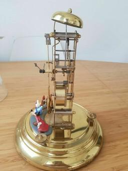 VERY RARE Walt Disney Franz Hermle Mechanical MICKEY MOUSE Pendulum Clock (1 of 5)