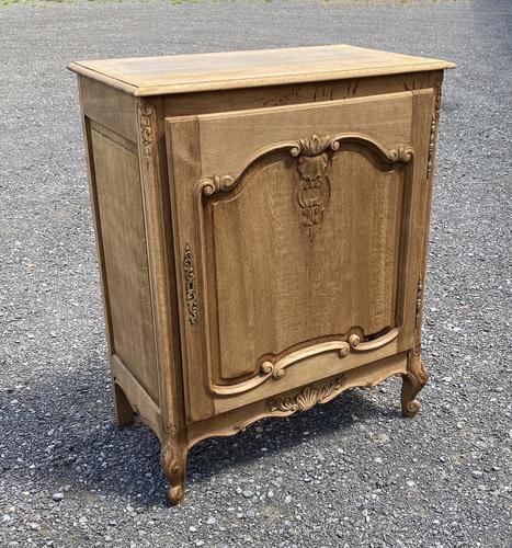 French Bleached Oak Side Cupboard (1 of 16)