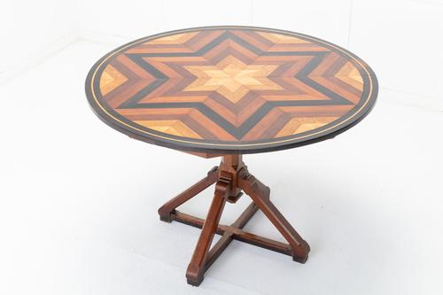 19th Century French Specimen Inlaid Circular Table (1 of 6)