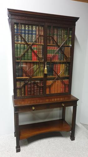 Edwards & Roberts Mahogany Bookcase (1 of 11)