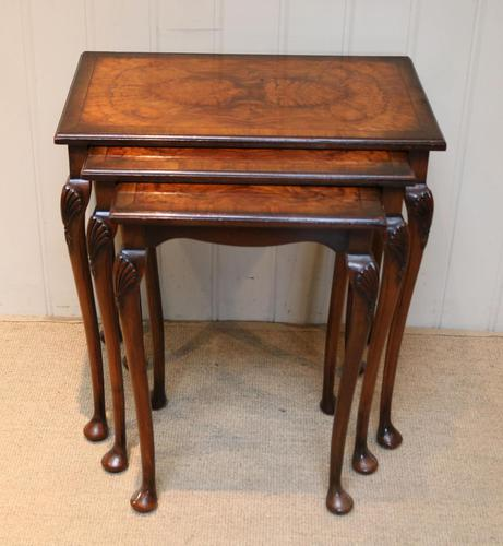1930s Walnut Nest Of Tables (1 of 10)