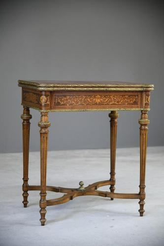 French Inlaid Games Table (1 of 12)
