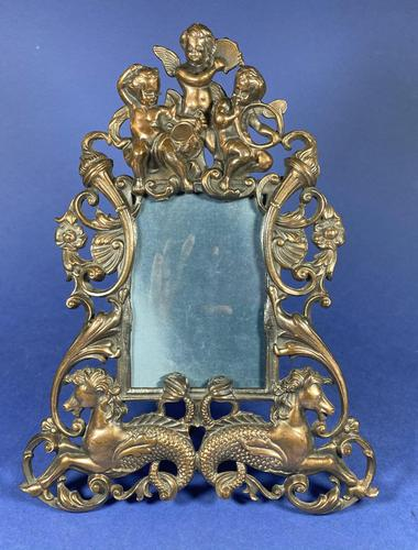 Victorian Cast Iron Photo Frame (1 of 10)