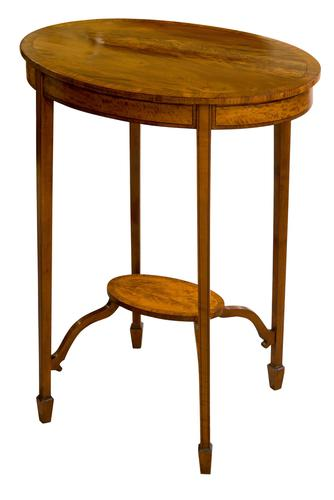 Pretty Oval Edwardian Table (1 of 8)