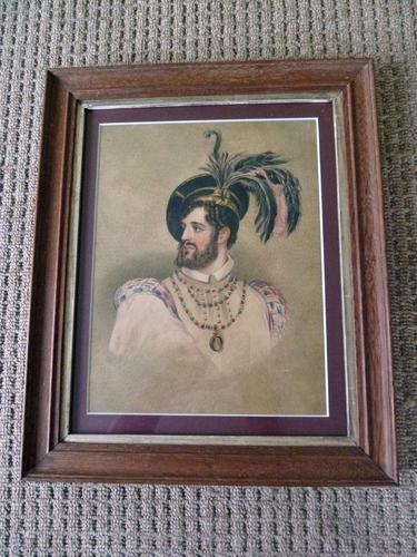 Fine 19thC Watercolour Portrait of Possibly Rob Roy McGregor ? (1 of 8)