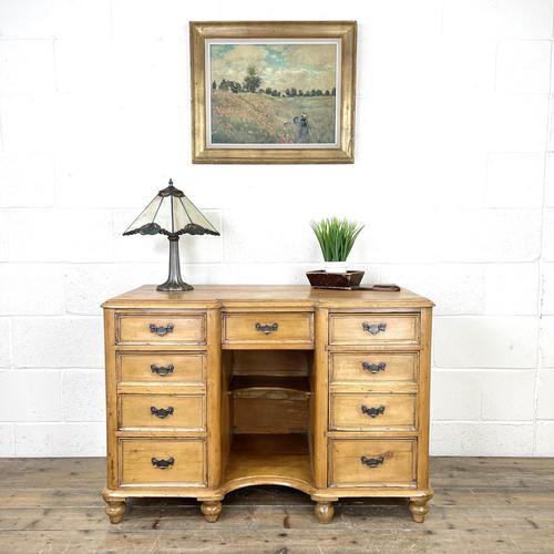 Victorian Antique Pine Sideboard with Drawers (1 of 11)