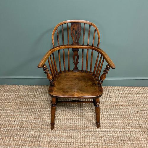 Stunning Country House Elm & Ash Antique Windsor Chair (1 of 7)