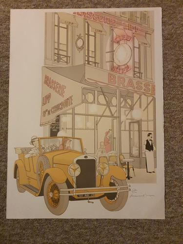 Old Time Restaurant in Paris; Brasserie Lipp (1 of 1)