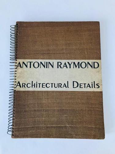 First Edition Antonin Raymond Architectural Details (1 of 3)