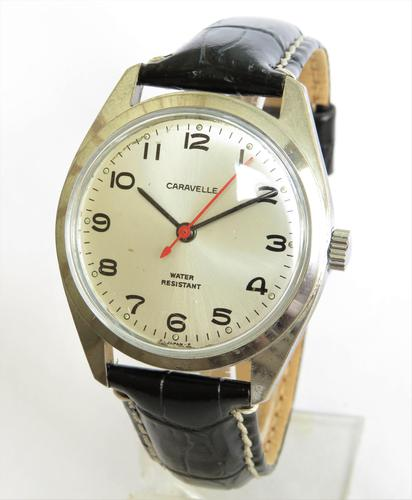 Gents 1977 Caravelle Wrist Watch (1 of 4)