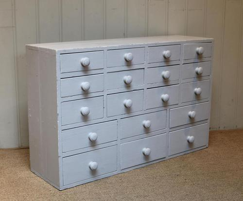 Early 20th Century Painted Collectors' Drawers (1 of 5)