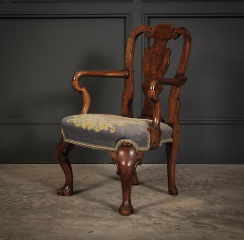 Small Queen Anne Style Childs Chair (1 of 9)