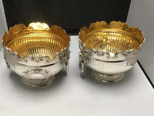 Excellent Pair of Solid Silver Bowls (1 of 5)