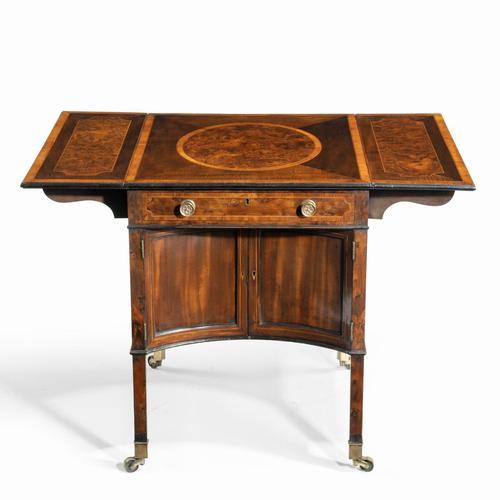 George III Chippendale-style Satinwood Pembroke Table (1 of 14)