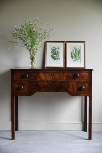 19th Century Mahogany Side Table (1 of 9)