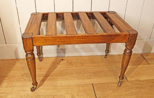 Victorian Luggage Rack, Suitcase Stand (1 of 10)