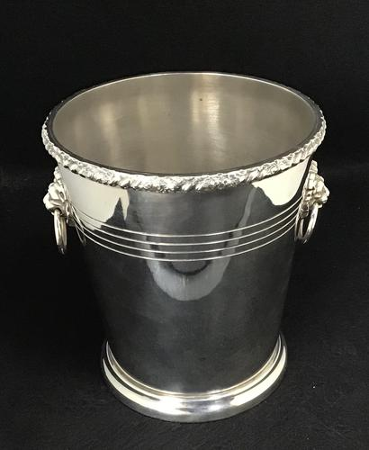 P.H. Vogel & Co Silver Plated Ice / Wine / Champagne Bucket (1 of 5)