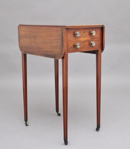 Early 19th Century Mahogany Drop-leaf / Pembroke Table (1 of 10)