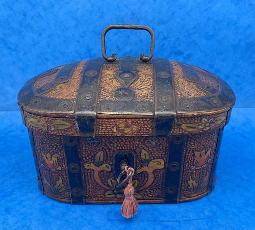 19th Century Arts And Crafts Scandinavian Birch Box (1 of 12)