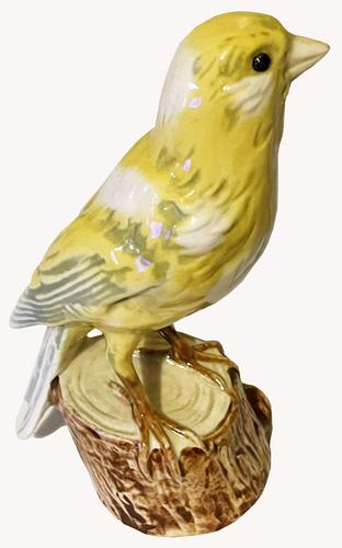 A Porcelain figure of a Canary by Goebel of Germany. (1 of 5)