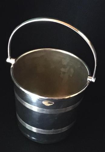 Mid Century Silver Plated  Ice Bucket (1 of 4)