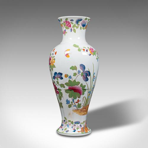 Antique Baluster Posy Vase, English, Ceramic, Decorative, Flower Urn c.1920 (1 of 12)