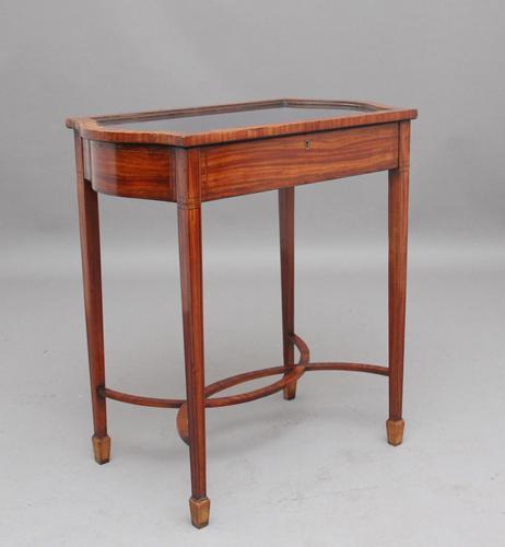 Edwardian Inlaid Satinwood Bijouterie Table (1 of 10)