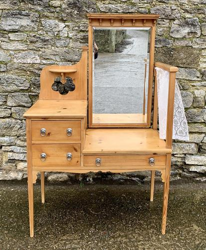 Antique Pine Dressing Table by Maple & Co (1 of 9)