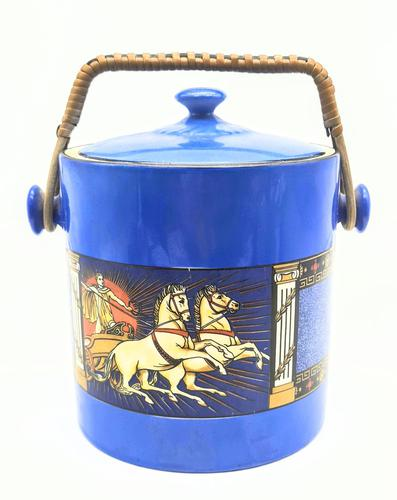 Scottish Pottery Brittania Pottery Scotch Biscuit Barrel (1 of 5)