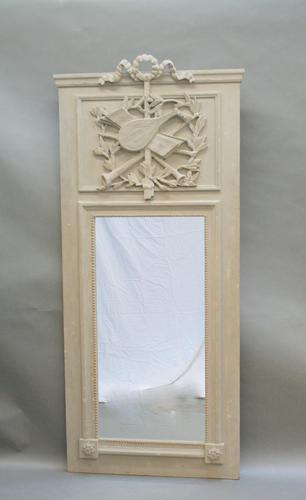 French Painted Wall Mirror (1 of 8)