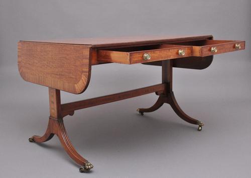 Early 19th Century Mahogany Sofa Table (1 of 14)
