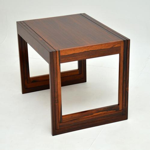 Danish Rosewood Stacking Nest of Tables by CFC Silkeborg (1 of 12)