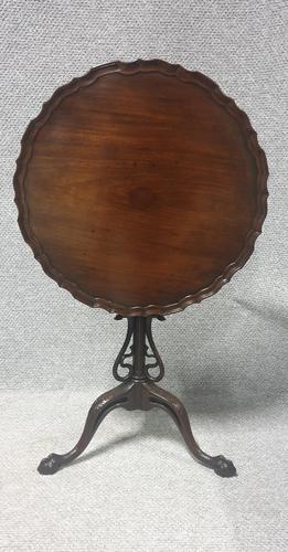Very Nice Mahogany Flip Top Table (1 of 12)