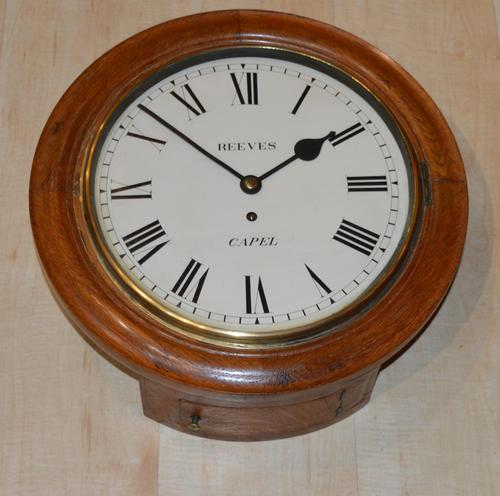 Fusee Dial Wall Clock Reeves of Capel (1 of 4)