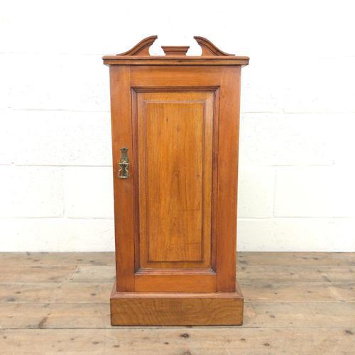 Antique Walnut Blind Panel Cupboard (1 of 8)