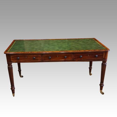 Georgian mahogany partners writing table (1 of 11)