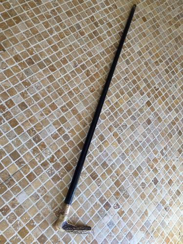 Antique Gentleman's Walking Stick with 18ct Gold Collar (1 of 8)