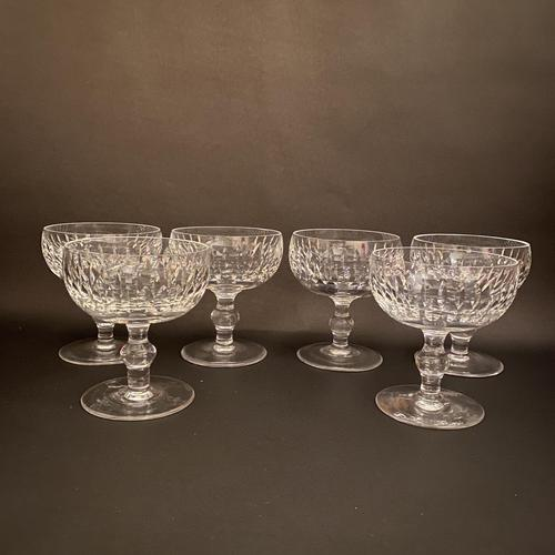 Six Waterford 'Maureen' Champagne Coupes (1 of 2)