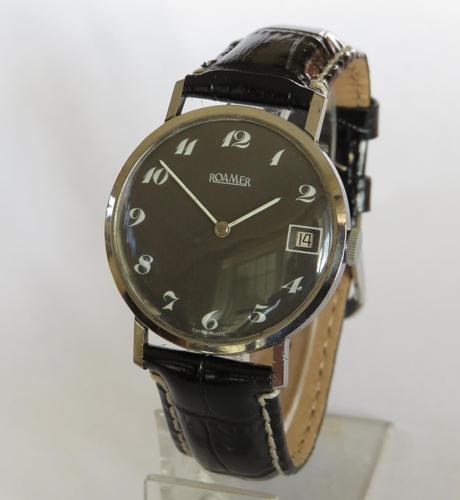 Gents 1970s Roamer Wristwatch (1 of 5)
