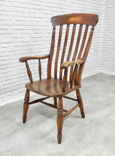 19th Century Windsor Lathback Armchair (1 of 6)