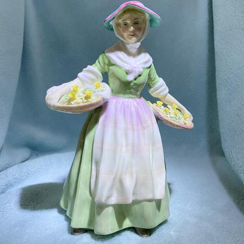 """Rare Royal Doulton Figurine, HN1712, """"Daffy Down Dilly"""" (1 of 11)"""