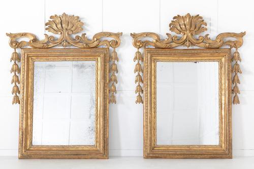 Pair of 18th Century Italian Rococo Mirrors (1 of 7)