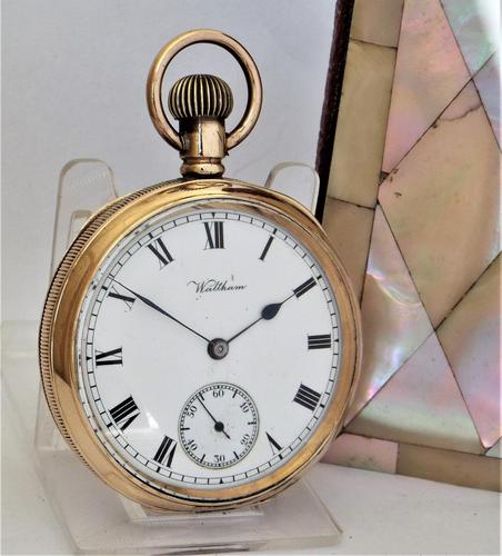 Antique 1912 Waltham Traveler Pocket Watch. (1 of 5)