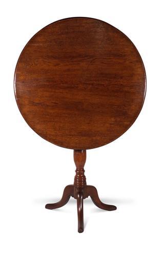 English Oak Tilt Top Table (1 of 6)